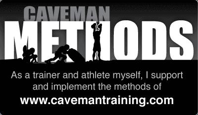 Caveman Methods Badge (medium)