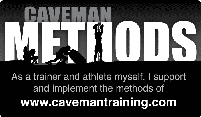 Caveman Methods Badge (large)