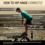 How to Hip Hinge CORRECTLY (infographic)