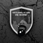 Kettlebells are da bomb! free facebook cover