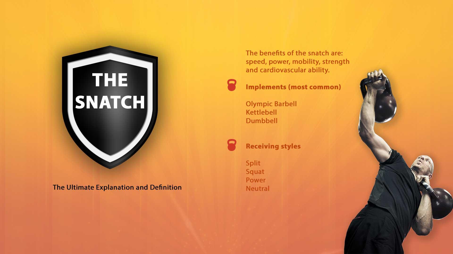 The kettlebell-snatch