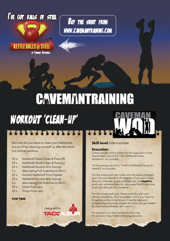 Click to see the larger version of this workout.