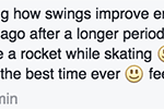 Kettlebell swing challenge testimonial
