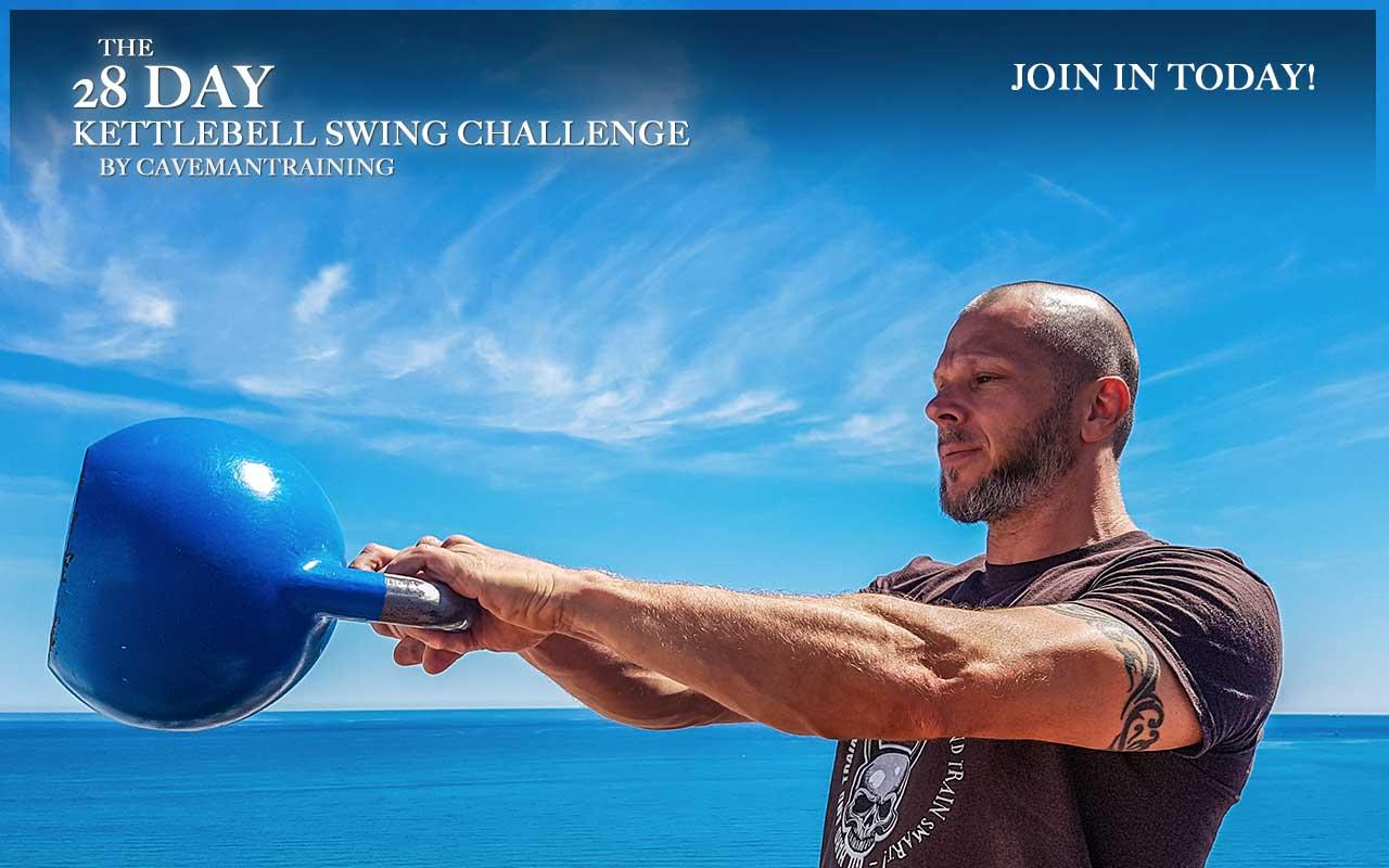 The Caveman Challenge 28 Day Swing Challenge