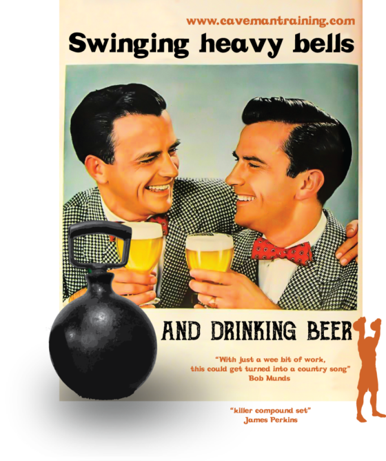 Swinging heavy bells and drinking beer