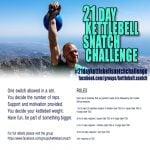 21 Day Kettlebell Snatch Challenge