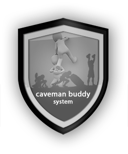Caveman buddy system