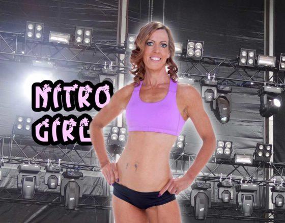 Nitro girl Pam Robinson