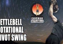 kettlebell rotational pivot swing