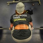 Strong weightlifter