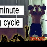 10 minute long cycle → kettlebell sport