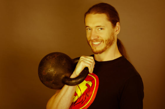 Logan Christopher Kettlebell Juggler