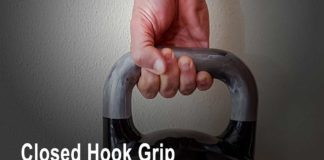 Closed hook grip