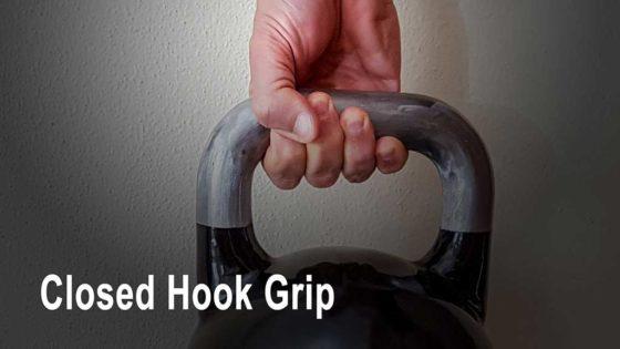 Closed hook grip