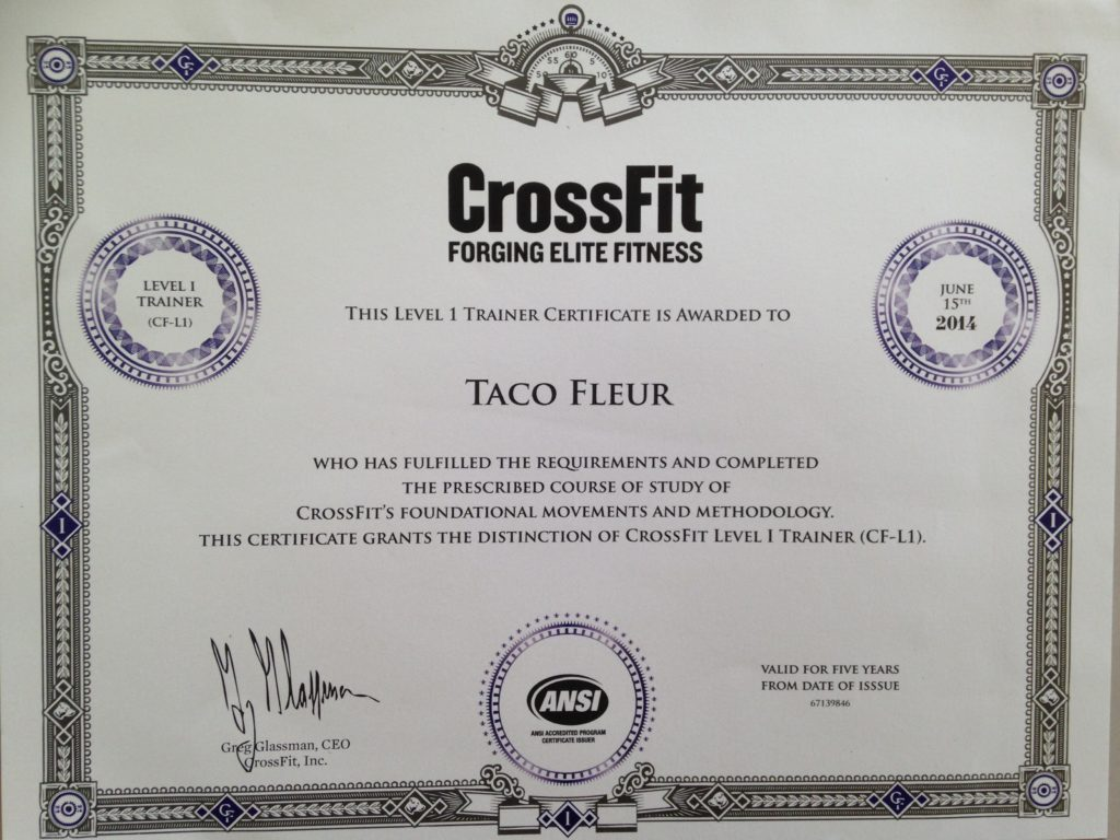 crossfit level certificate fitness mma workout cavemantraining