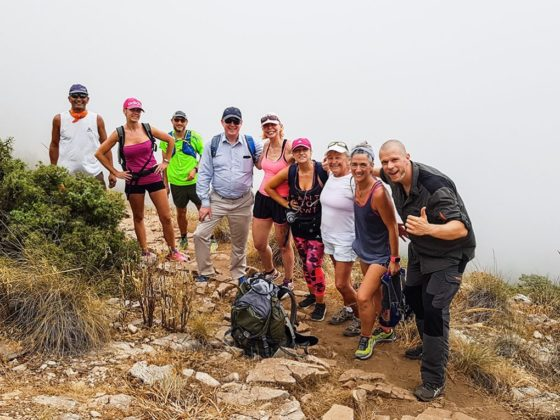 La Concha mountain hike Marbella