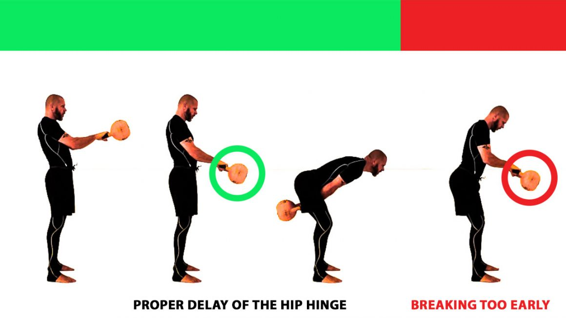 middle back pain after kettlebell swings
