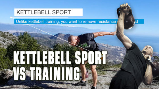 Kettlebell sport swing
