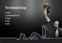 The kettlebell drop