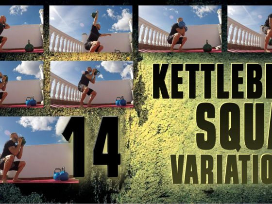 14 kettlebell squat variations