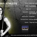 Caveman Athlete: Kelly Manzone