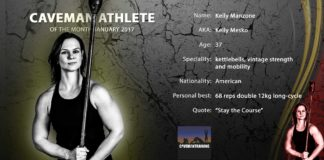 Caveman Athlete Kelly Manzone
