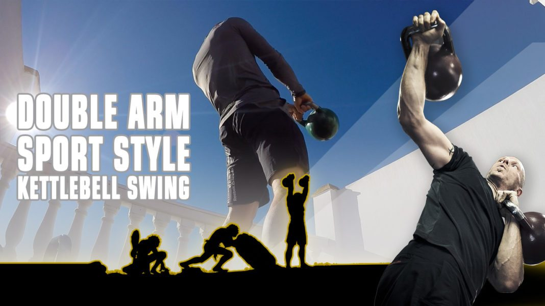 Double-arm sportstyle swing