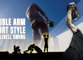 Double-arm sportstyle swing