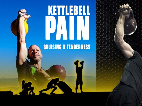 Kettlebell pain bruising tenderness
