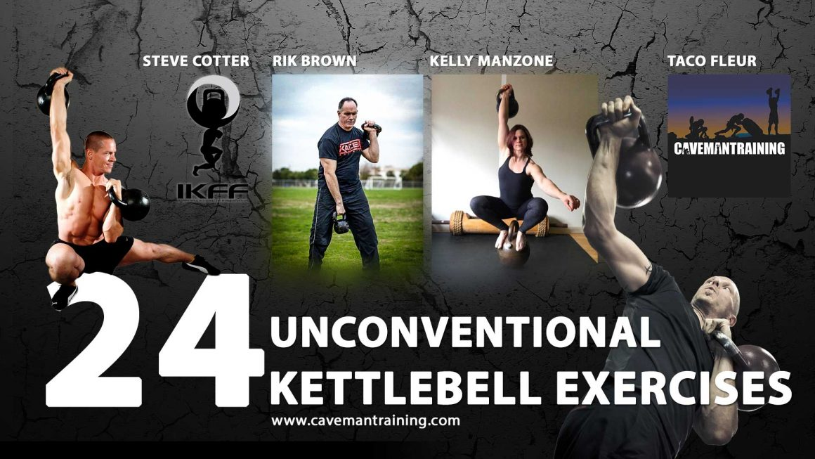 24 unconventional kettlebell exercises