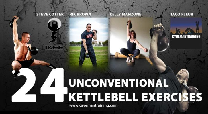 24 Unconventional Kettlebell Exercises You Didn't Know