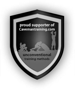 proud supporter of Cavemantraining.com unconventional training methods