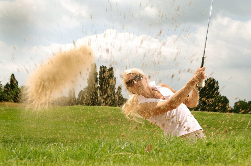 kettlebells and golf