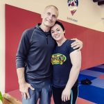Kirsten Tulloch and Steve Maxwell