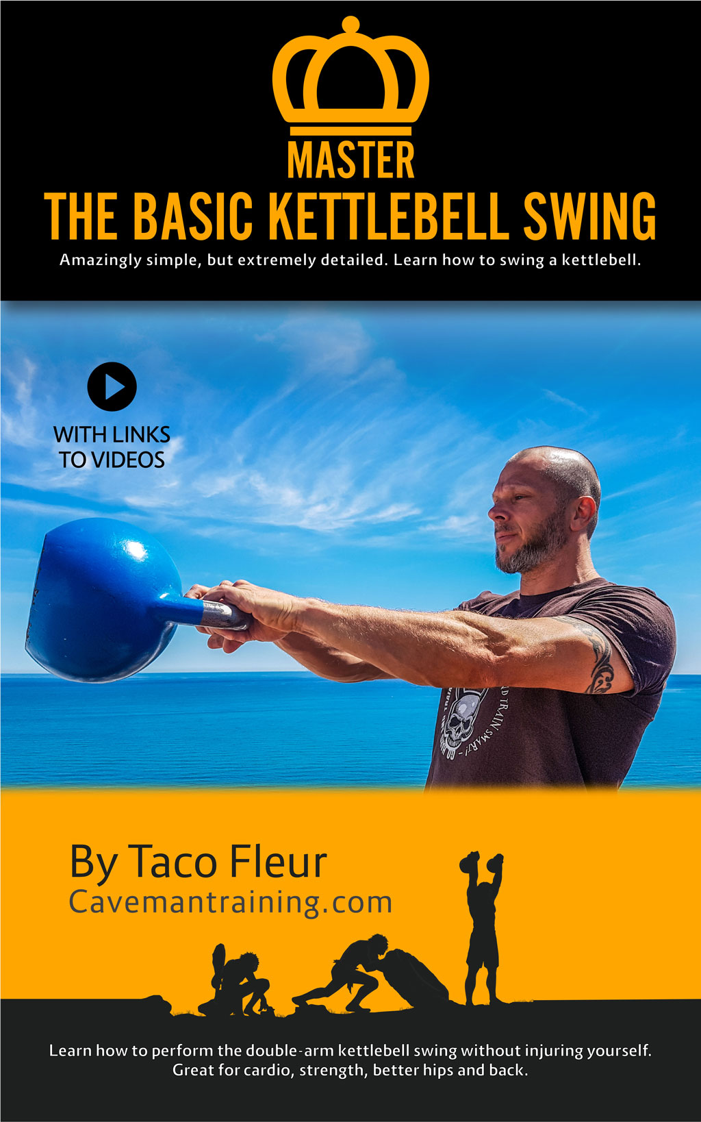 Master The Basic Kettlebell Swing