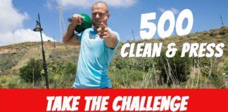 Caveman 500 clean and press challenge