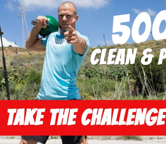 Caveman 500 clean and press challenge