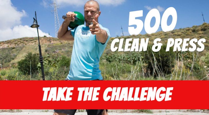 The Caveman 500 Clean & Strict Press Challenge