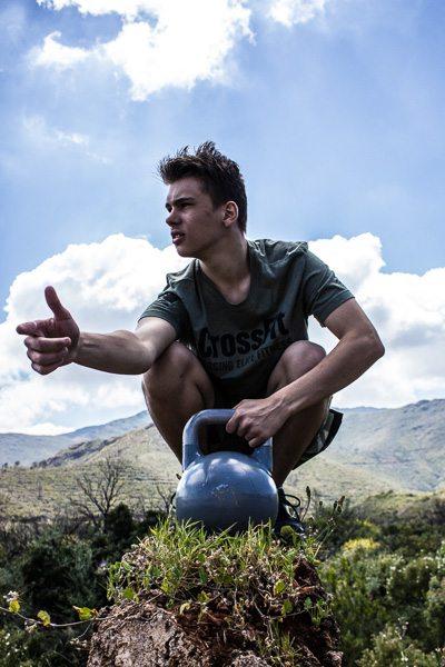 Kettlebell CrossFit T-shirt