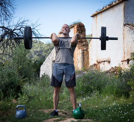 CrossFit lvl 1 Trainer Stock Photo