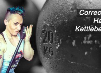 Correcting The Hard Style Kettlebell Swing