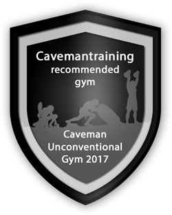Caveman Unconventional Gym Badge
