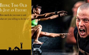 Being Too Old Is Just an Excuse