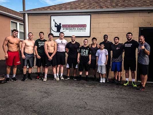 The underground strength gym