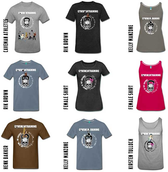 Cavemantraining shirts for sale