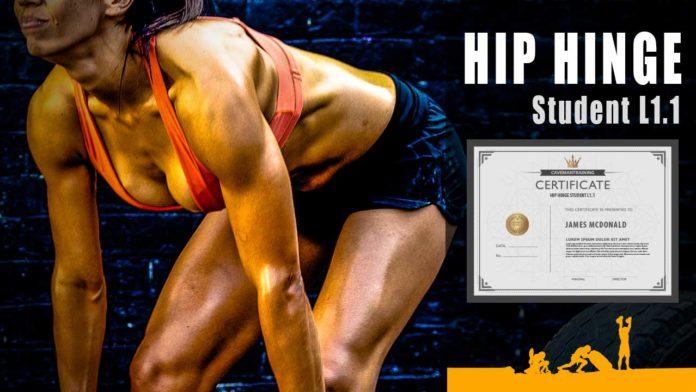 Hip Hinge Student L1.1 Certification