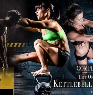 List of all kettlebell training exercises