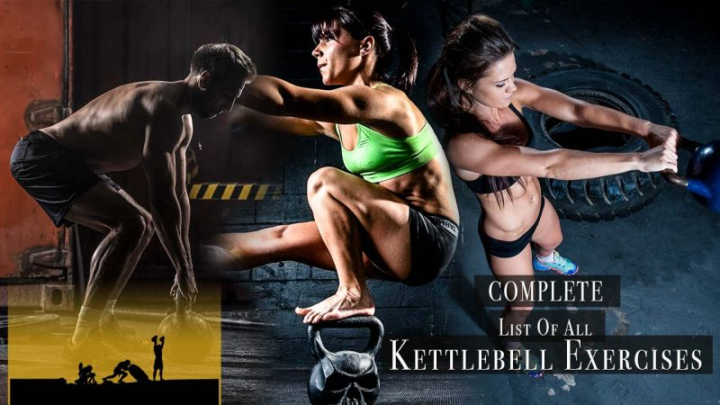 List of all kettlebell training exercises