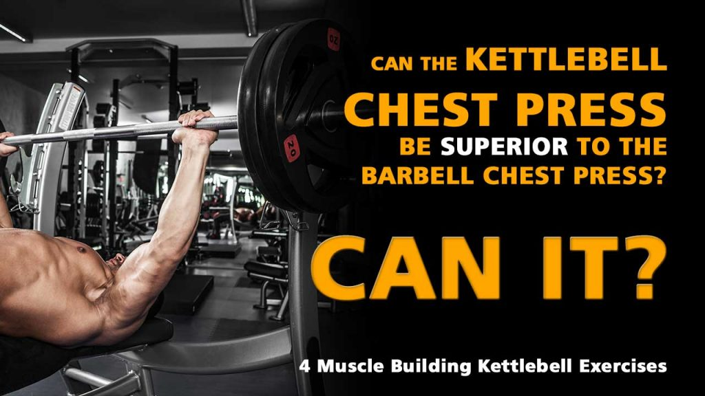 Kettlebell chest press