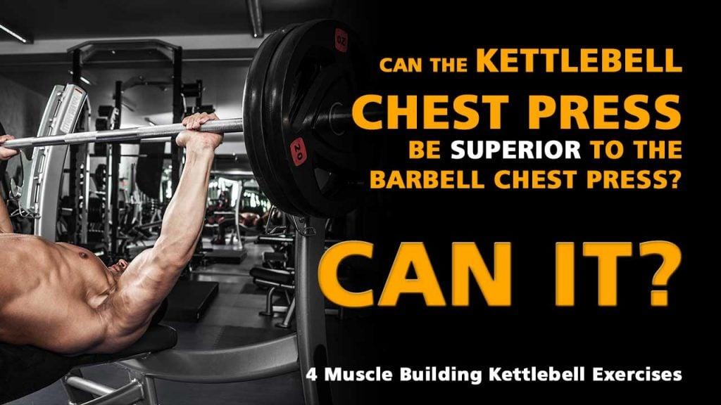 Kettlebell chest press
